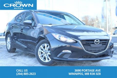 Pre-Owned 2014 Mazda3 GS 6 Speed Manual *Lease Return/One Owner*